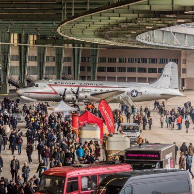 T-Base Referenzen: Flughafen Tempelhof